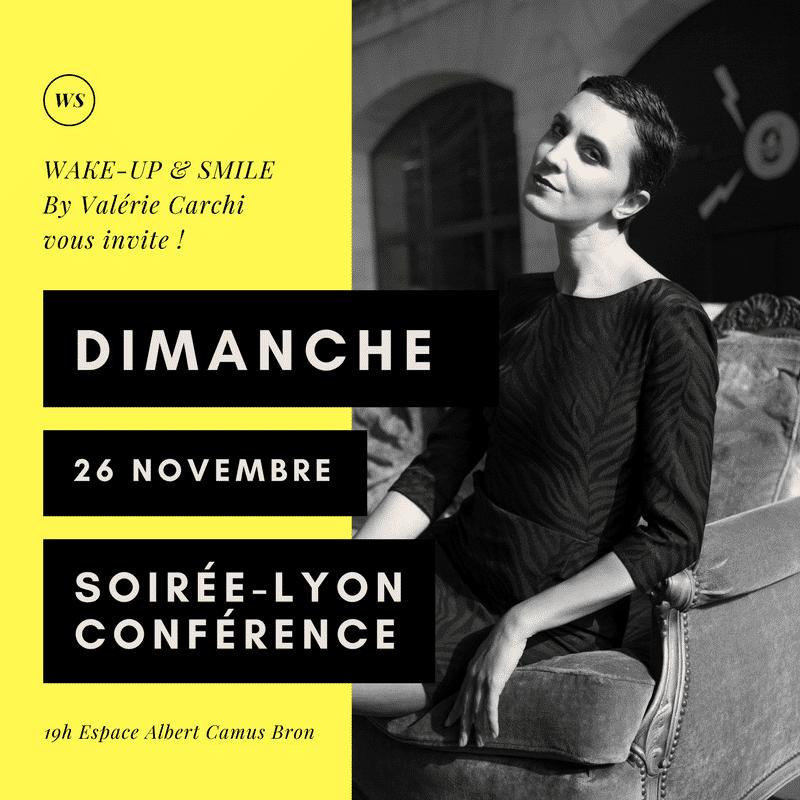 soiree conference lyon 26 novembre 2017
