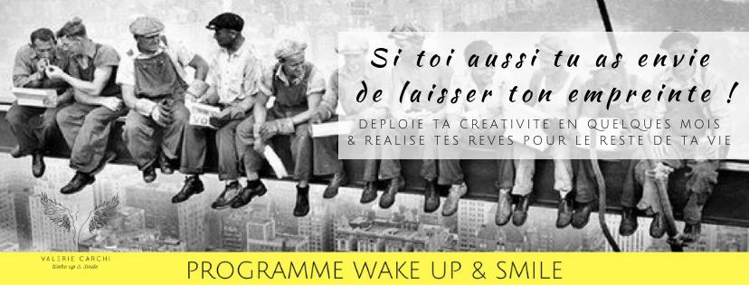 Services programme en ligne wake up and smile