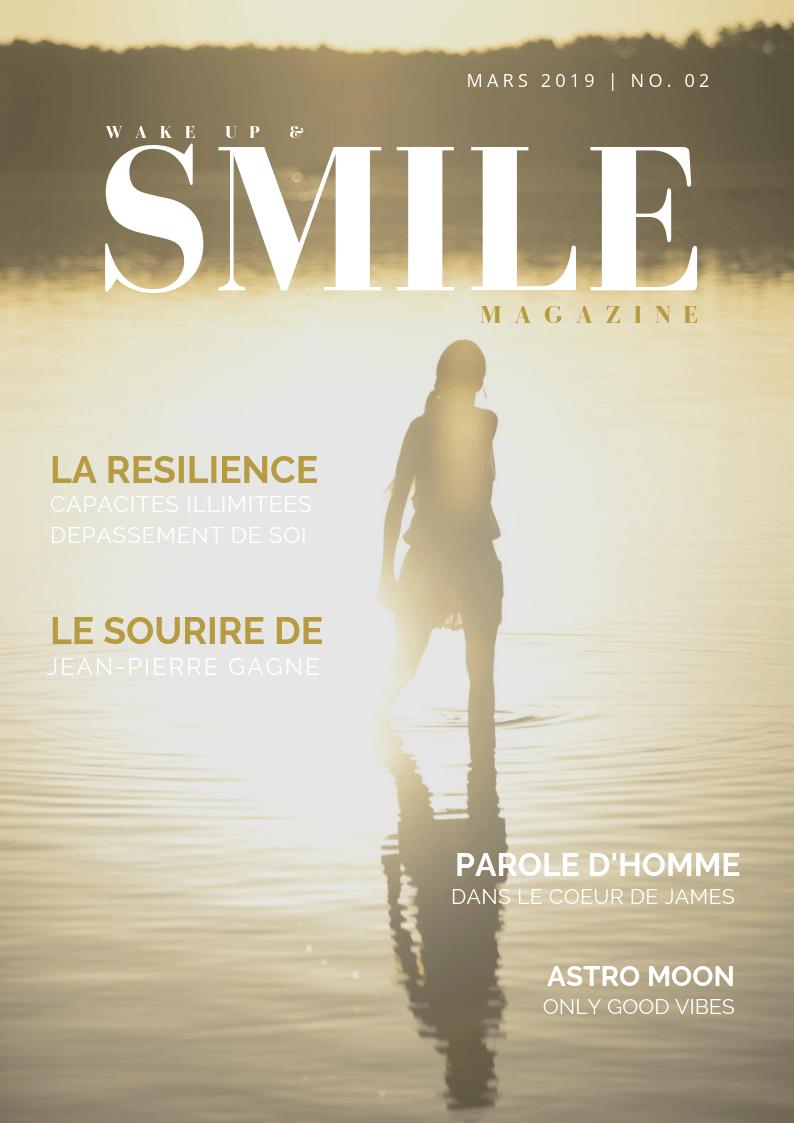 Wake Up & Smile Magazine Mars 2019