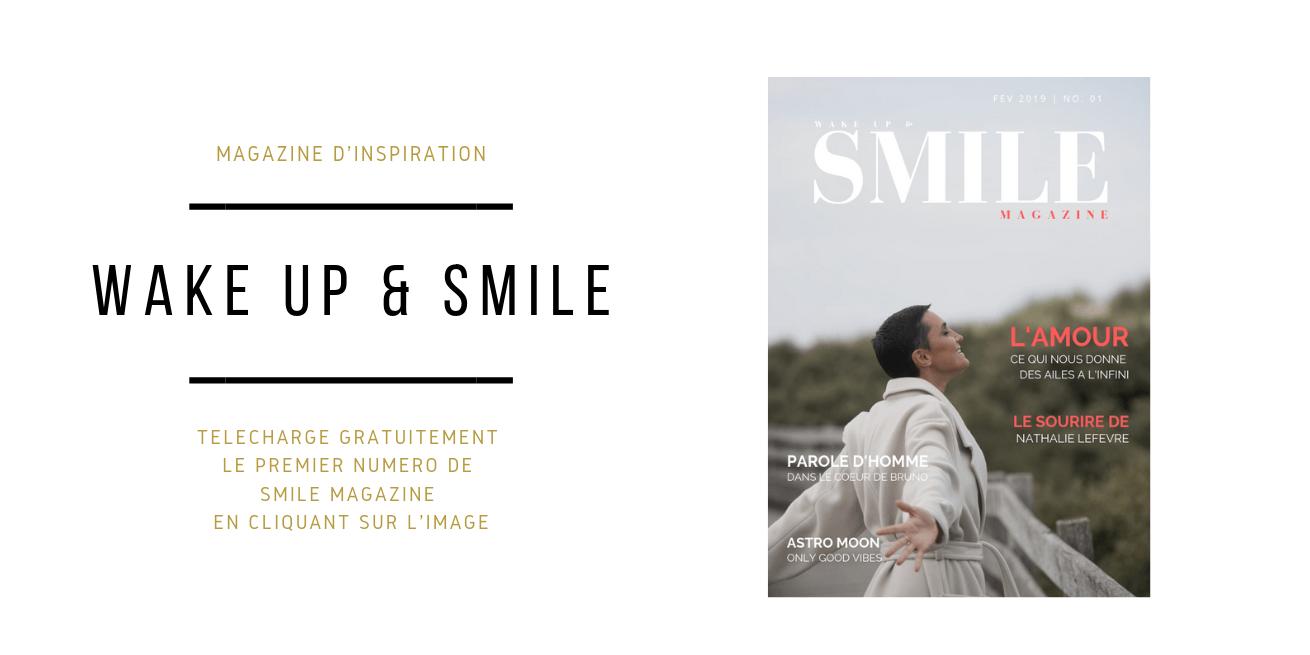 Encart découverte Wake Up & Smile Magazine2