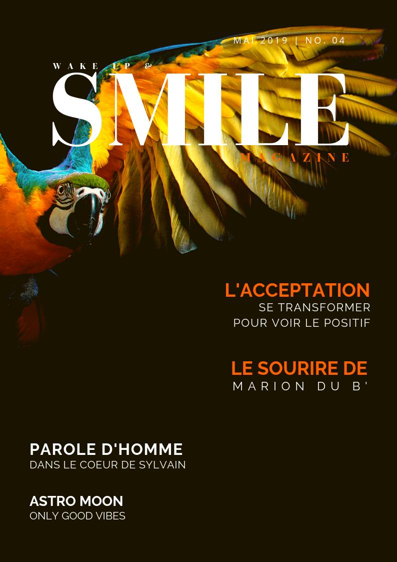 Wake Up & Smile Magazine Mai 2019