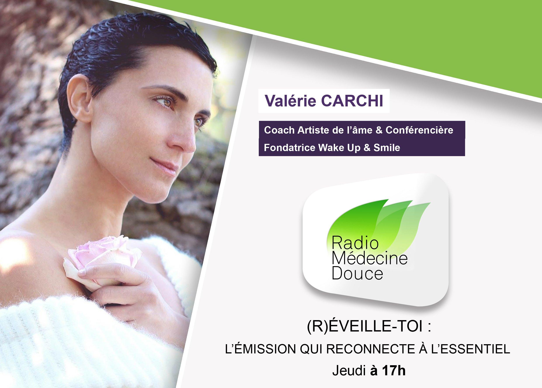 VISUEL EMISSION RADIO MEDECINE DOUCE VALERIE