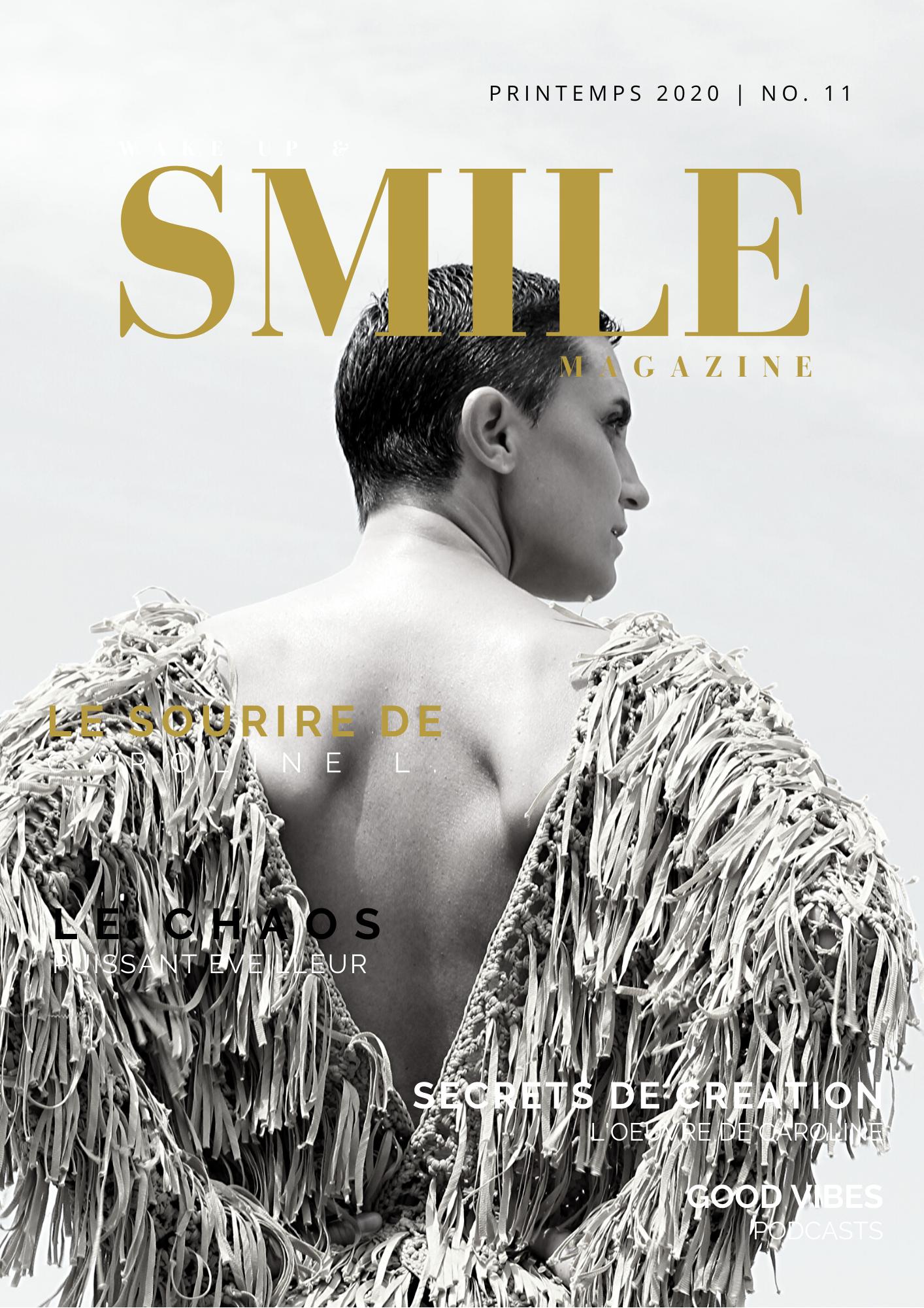 Wake Up & Smile Magazine Printemps 2020