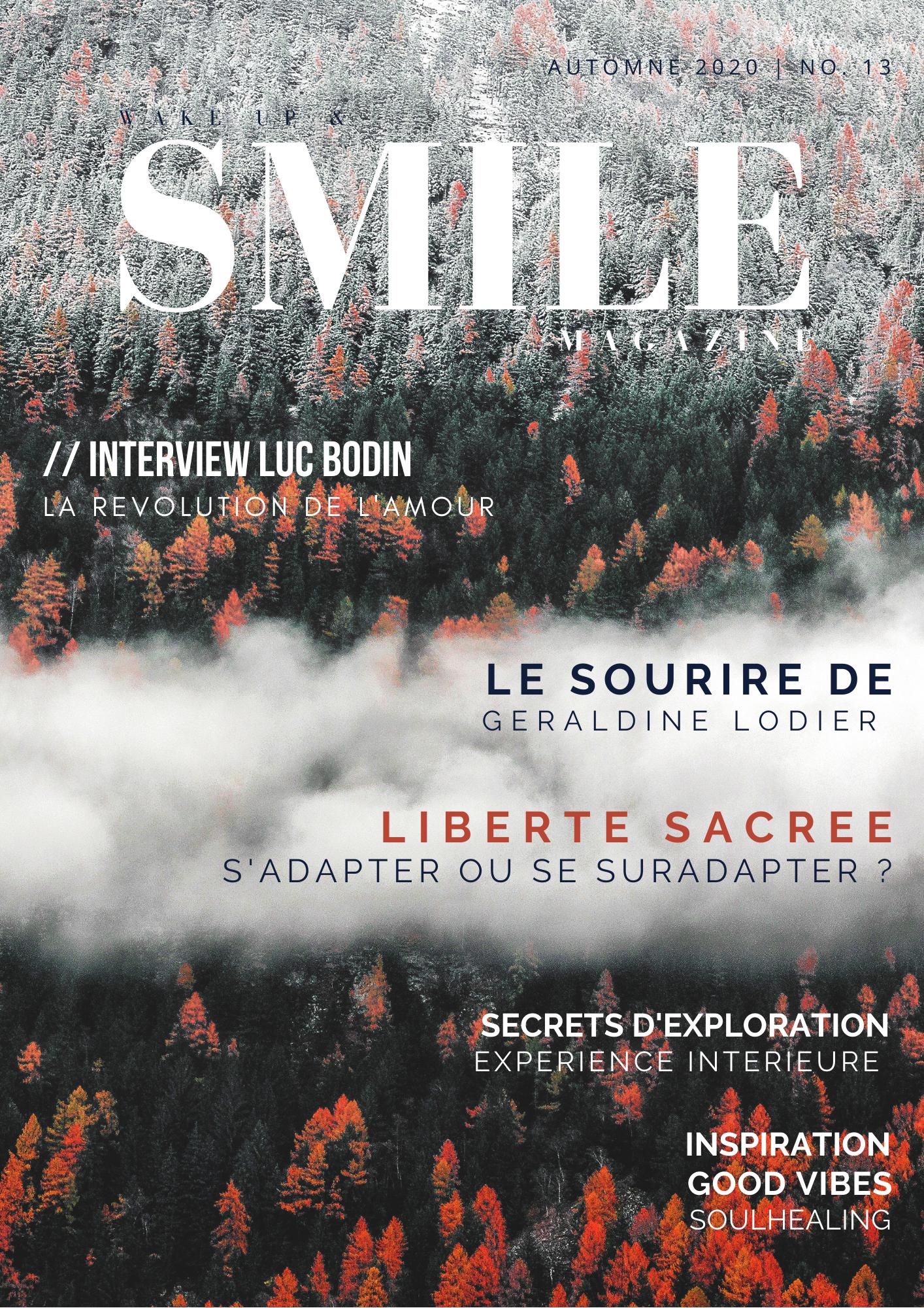 Wake Up & Smile Magazine Automne 2020